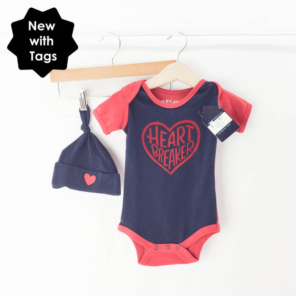 Little Blue House - Onesie (6-12M) - Beeja May