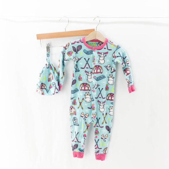 Little Blue House - Sleeper (18-24M) - Beeja May