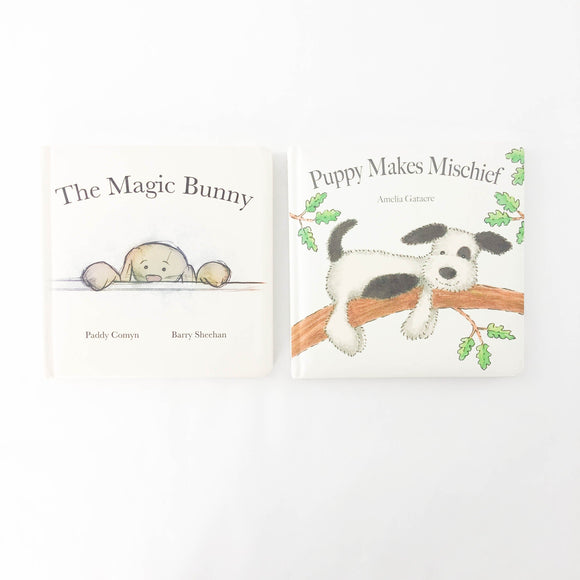 2-pack - The Magic Bunny + Puppy Makes Mischief - (Paddy Comyn + Barry Sheehan/Amedlia Gatacre) - Beeja May