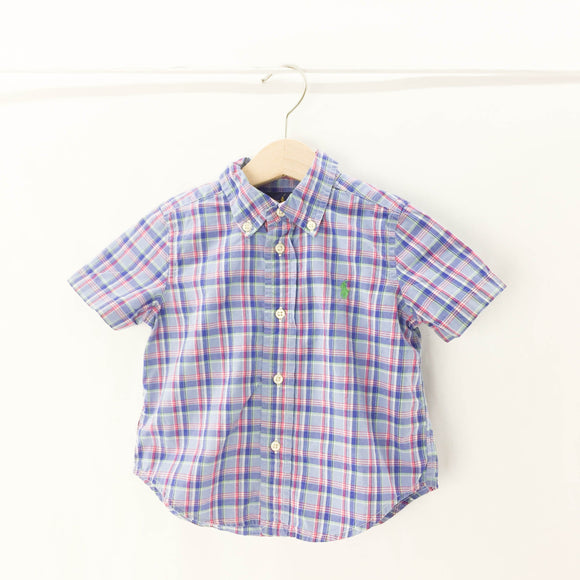 Ralph Lauren - Short Sleeve Button (18M) - Beeja May