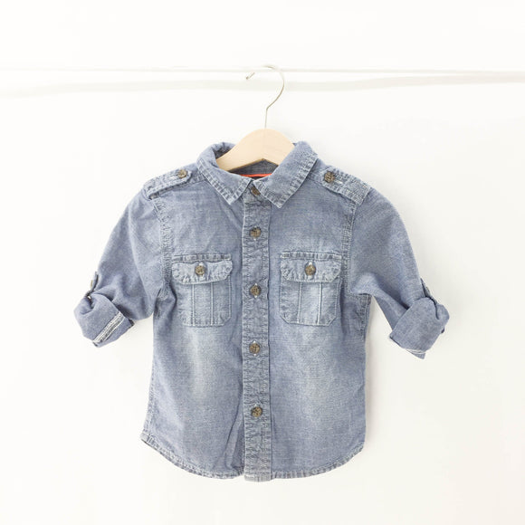 Joe Fresh - Long Sleeve Button (18-24M) - Beeja May