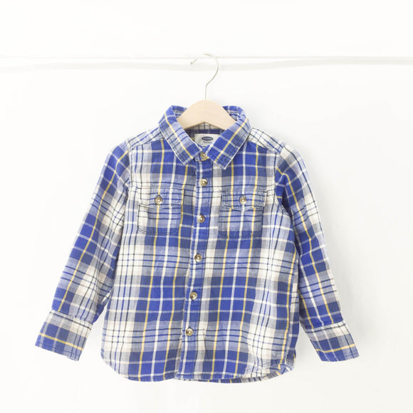 Old Navy - Long Sleeve Button (4Y) - Beeja May