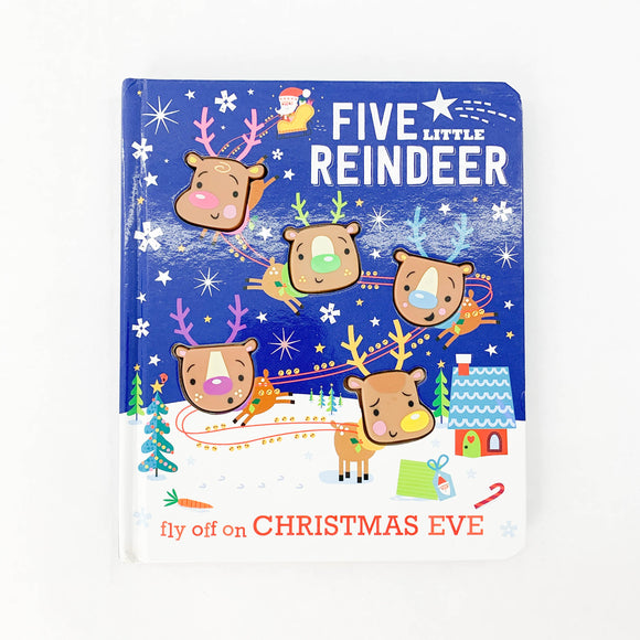 Five Little Reindeer - Fly Off On Christmas Eve - (Stuart Lynch) - Beeja May