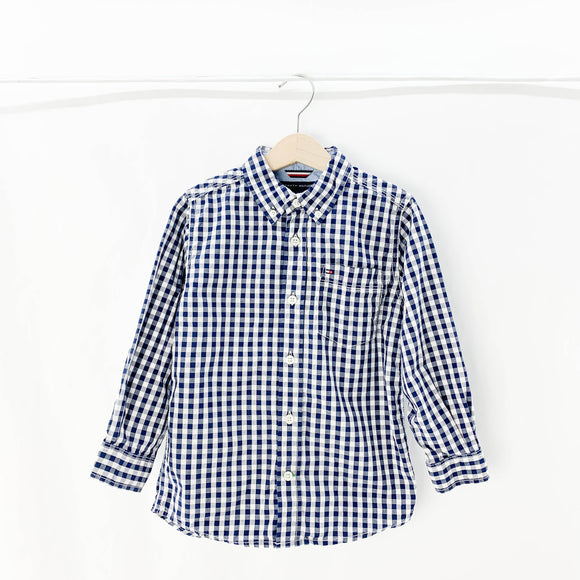 Tommy Hilfiger - Long Sleeve Button (4Y) - Beeja May