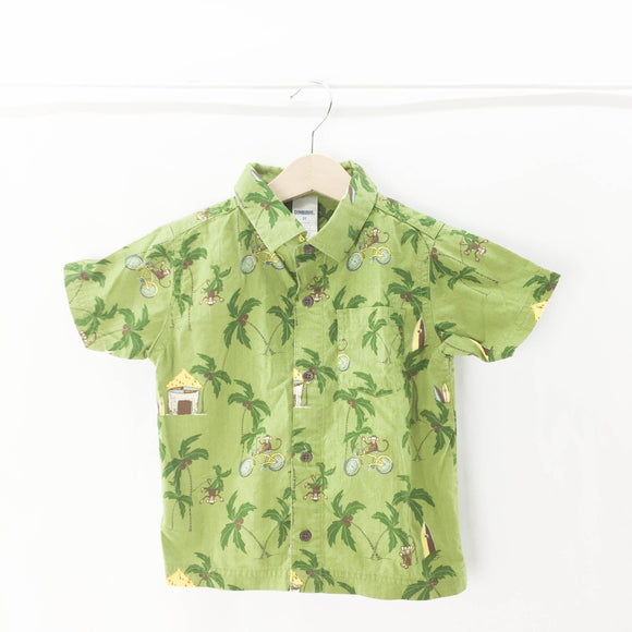 Gymboree - Short Sleeve Button (2Y) - Beeja May