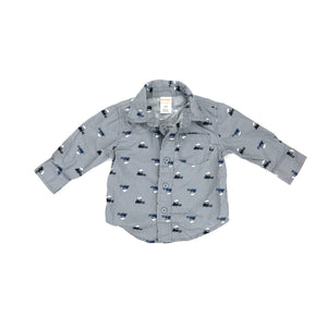 Gymboree - Long Sleeve Button (6-12M) - Beeja May