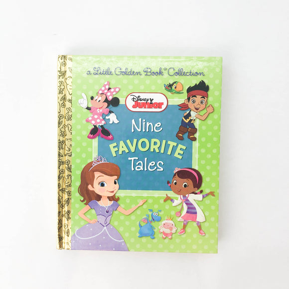 Disney a Little Golden Book Collection, Nine Favorite Tales - (na) - Beeja May