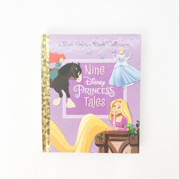 Disney a Little Golden Book Collection, Nine Princess Tales - (na) - Beeja May