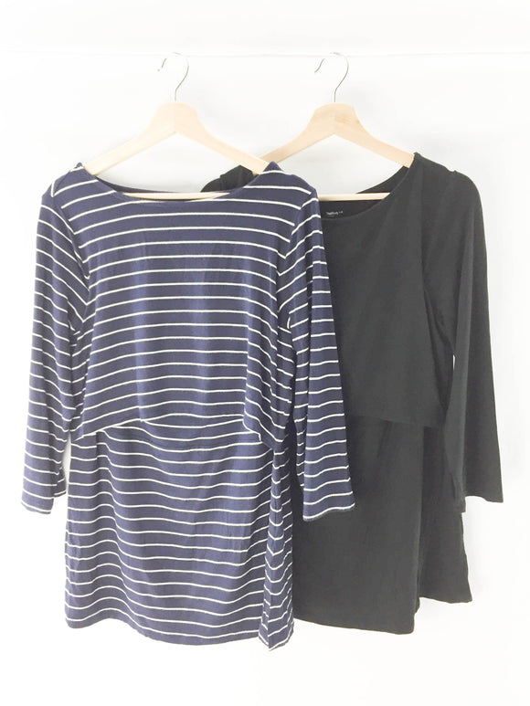 Gap - Long Sleeve (L (Nursing)) - Beeja May