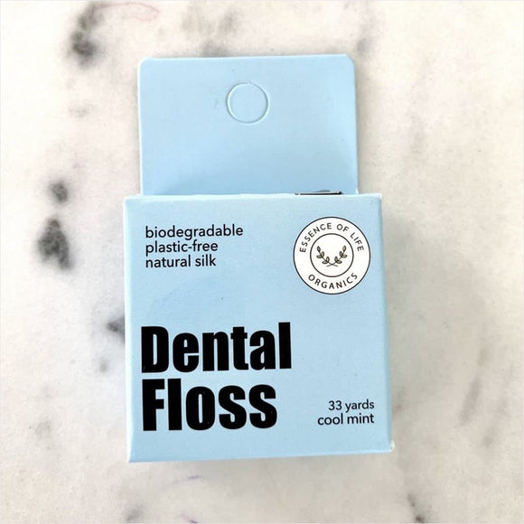 Biodegradable Silk Floss (Cool Mint) Essence of Life (Toronto, Ontario)