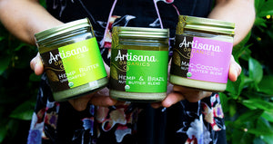 Hemp Butter! Brazil Nuts! Macadamias! Talking about Artisana's new nut butter blends