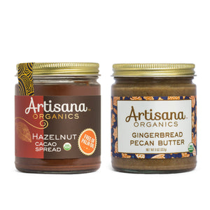 Holiday Duo - Gingerbread and Hazelnut Cacao
