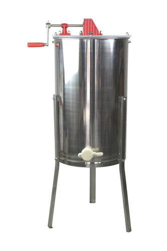 2 Frame Stainless Steel Manual Honey Extractor