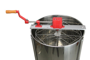 Four frame honey extractor spinner