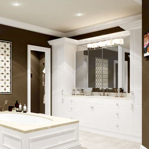 3 Door Wall Hung Minimalist Bathroom Cabinet