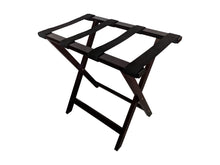 Bamboo Suitcase Stand Luggage Rack mahogany