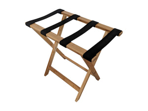 Bamboo Suitcase Stand Luggage Rack Natural Colour profile top