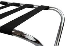 Chrome Foldup Luggage Rack / Suitcase Stand - OZ Best Choice Products
