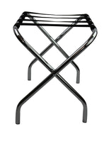 Chrome Foldable Luggage Rack / Suitcase Stand - OZ Best Choice Products