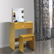 Dressing Table with Mirror and Stool Dresser Makeup Cabinet Jewellery Cabinet Organiser