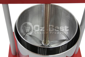 fruit press wine press cider press internal bucket