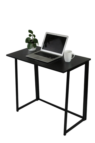 Black Folding Computer Desk - OZ Best Choice Products