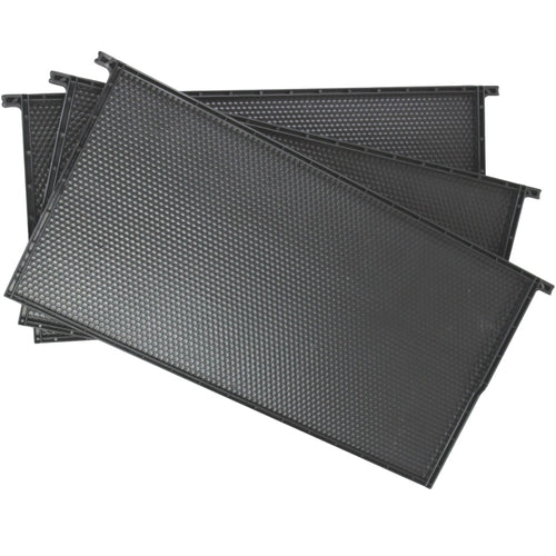 Black Plastic Beehive Frames Frame for Beekeeping - Full Depth Langstroth Frames for Deep Hive