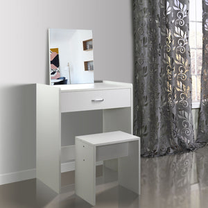 White Dressing Table Makeup Organiser Vanity Dresser