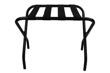 Black Fold up Luggage Rack / Suitcase Stand - OZ Best Choice Products