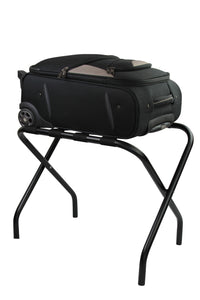 Black Foldup Luggage Rack / Suitcase Stand - OZ Best Choice Products