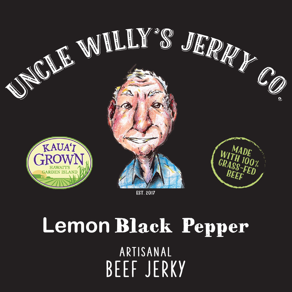 2.5oz Lemon Black Pepper Jerky