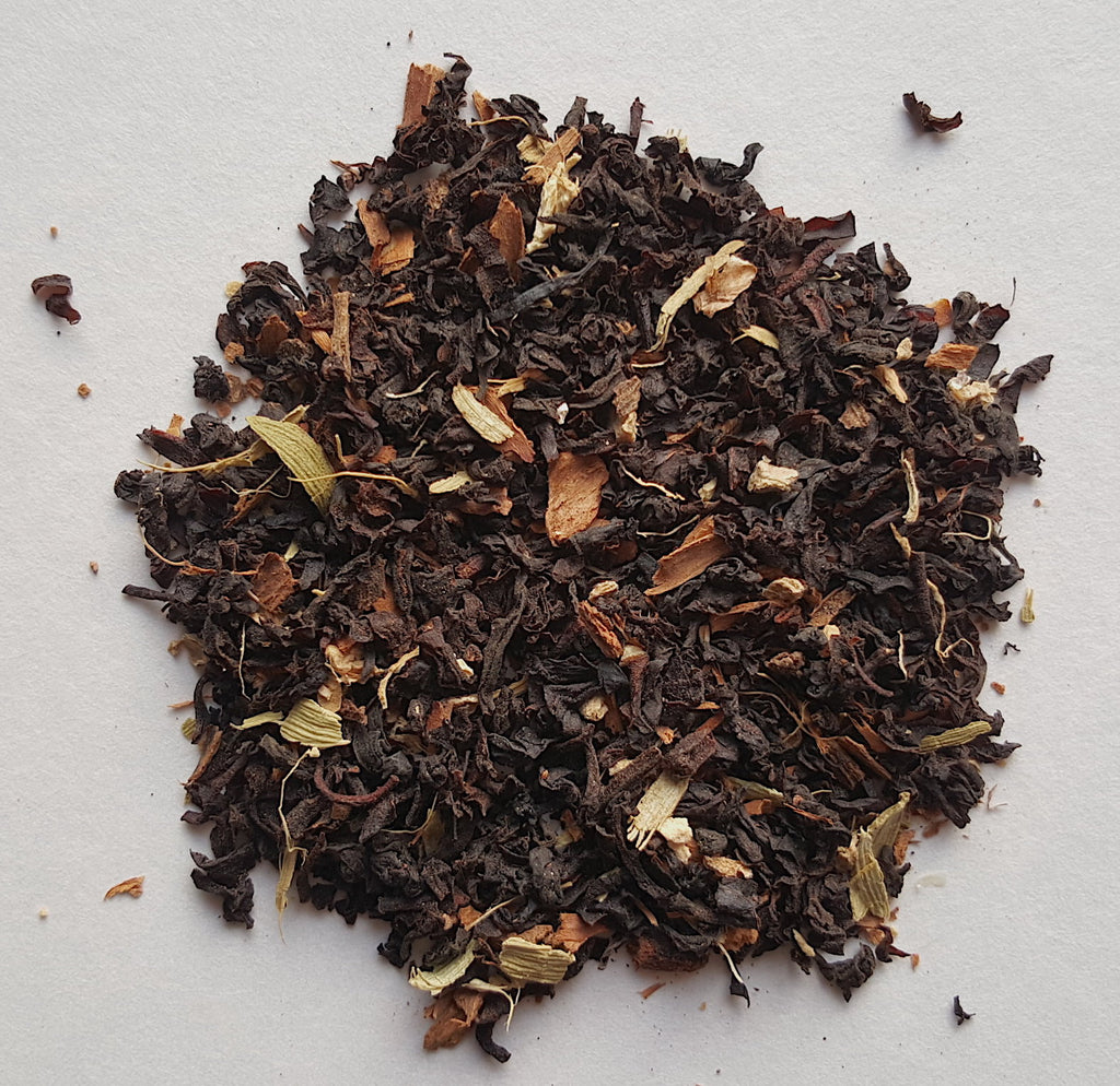 Chai an age old romance : a blend of black tea with eastern spices