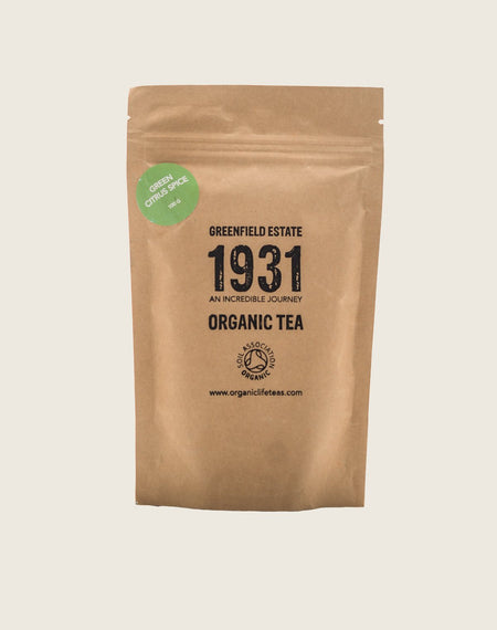 Green Tea Citrus Spice - Organic Life Teas
