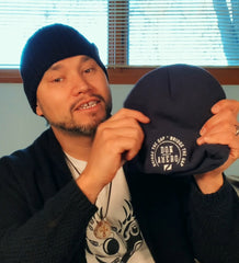 Don Amero with Toque for Main Street Project