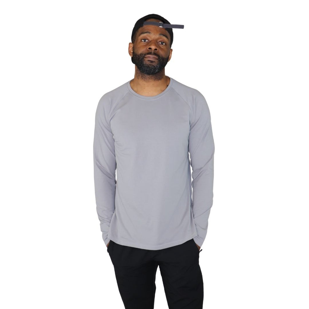 luxe lounge long sleeve shirt