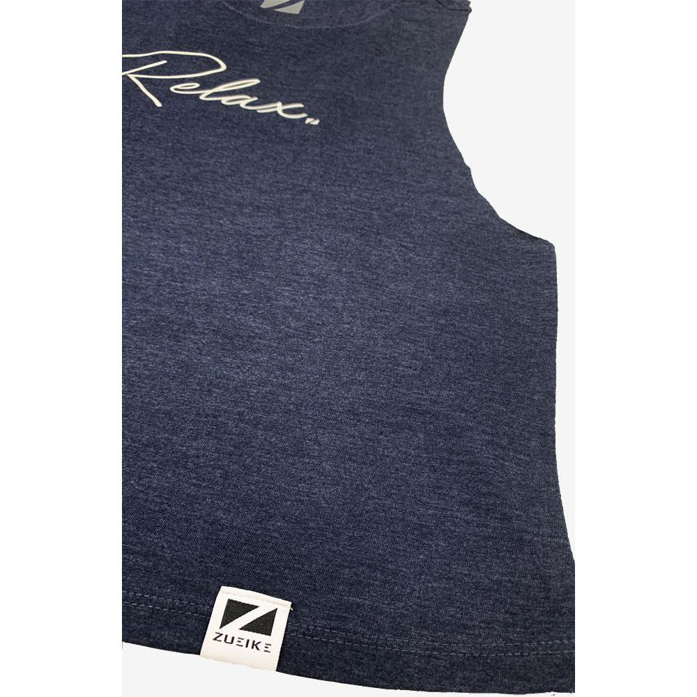 Relax Racerback Cropped Tank