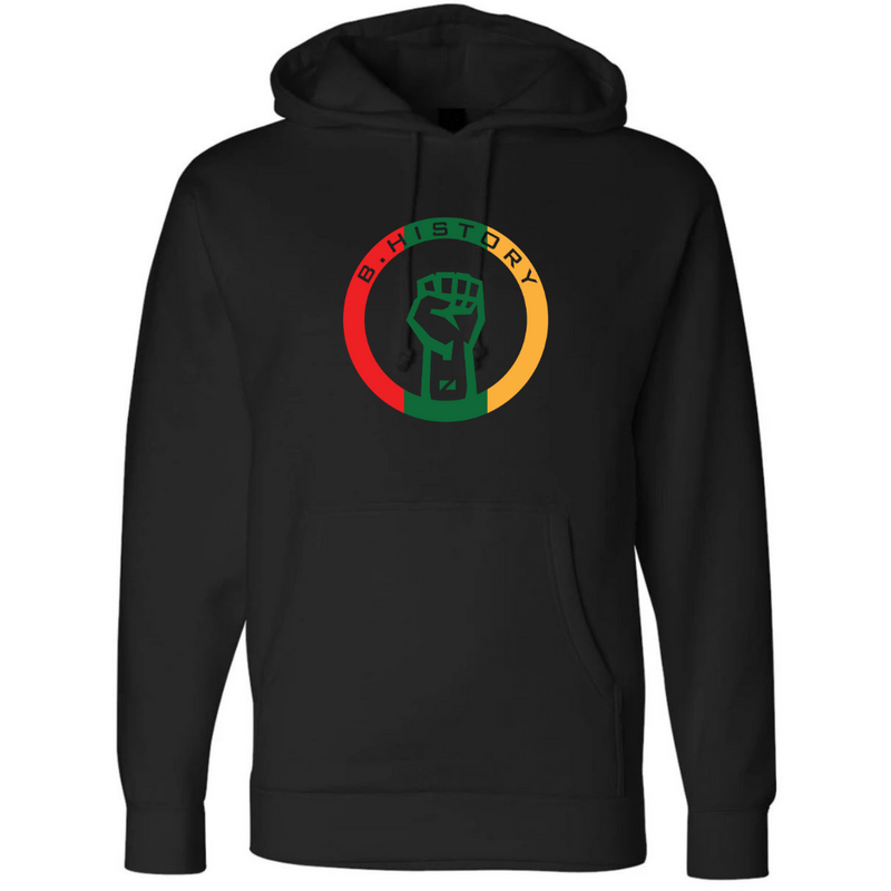 B. History Midweight Hoodie (3 Color Chenille logo)