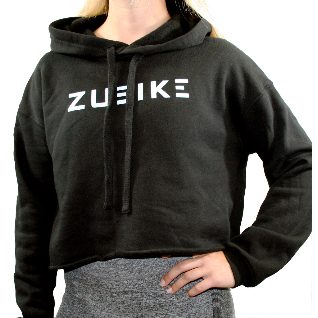 Zueike Classic Cropped Hoodie