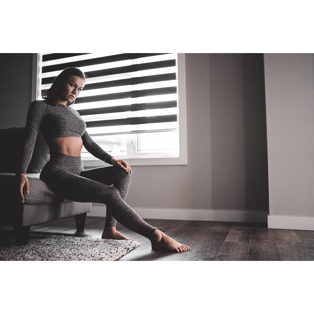 Zueike Seamless Legging/Top Set