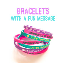 JustBetweenUs Bracelets! (package of 3 + 1 sticker!)
