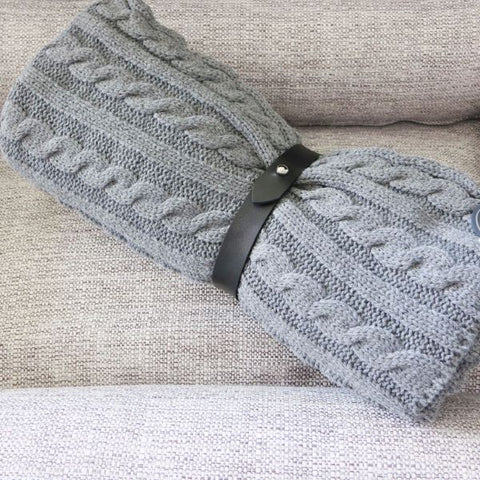 Luxury knitted blanket for your dog or home