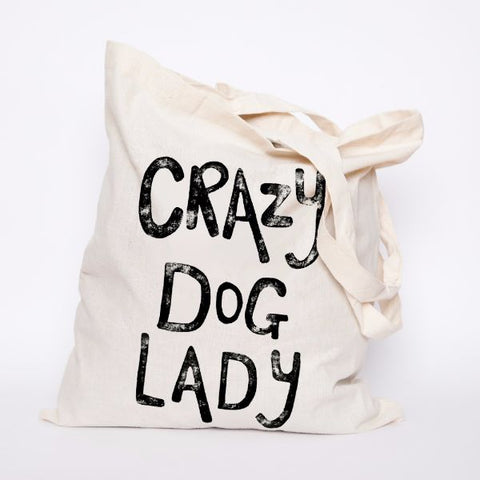 Tote - Crazy Dog Lady