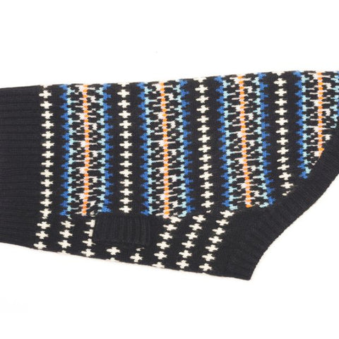 Sweater - Fairisle Black