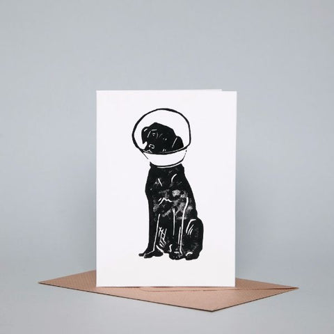 get well soon dog-themed giftcard