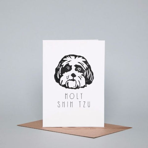 Card - Holy Shih Tzu