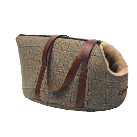 Digby Scottish Tweed Carrier