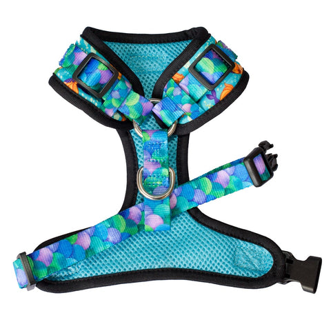 Harness - Mystical Mermaids (Adjustable Dog Harness)