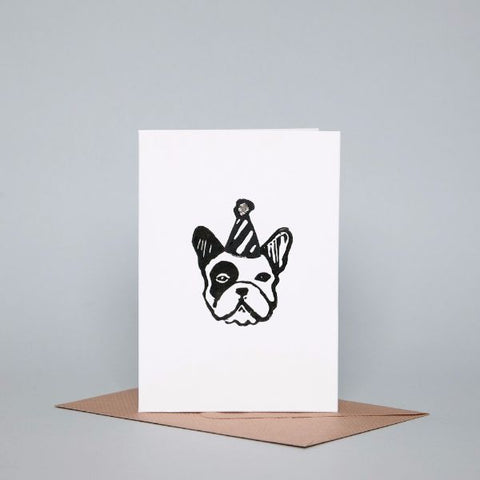 frenchie party dog-themed gifcard