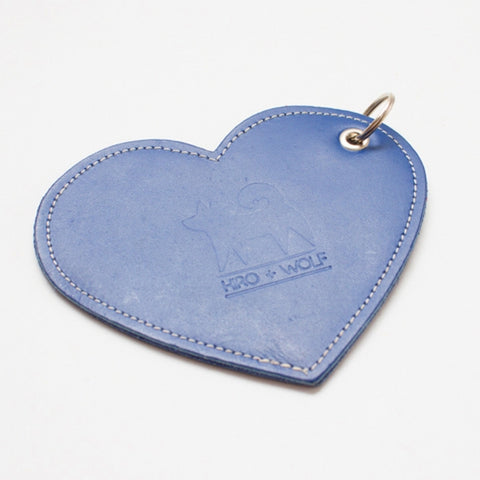 Poop Bag Holder - Navy Heart