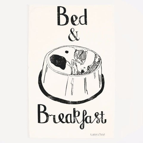 Tea Towel - Bed & Breakfast